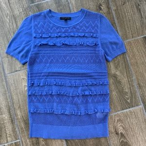 Blue Banana Republic short sleeve top, size small